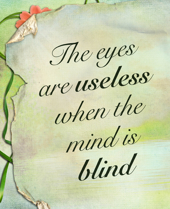 Quotes On Lovely Eyes: Blind Eye Quotes. QuotesGram