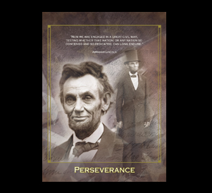 quotes abraham lincoln perseverance poster quotesgram