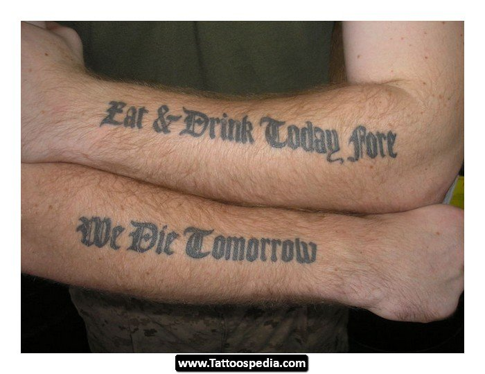 Nice Quotes To Get Tattooed: Good Quotes To Get Tattooed. QuotesGram