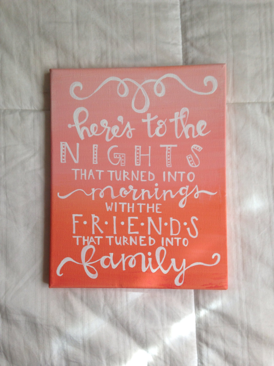 Friend Quotes On Canvas : Painting with friends quotes quotesgram