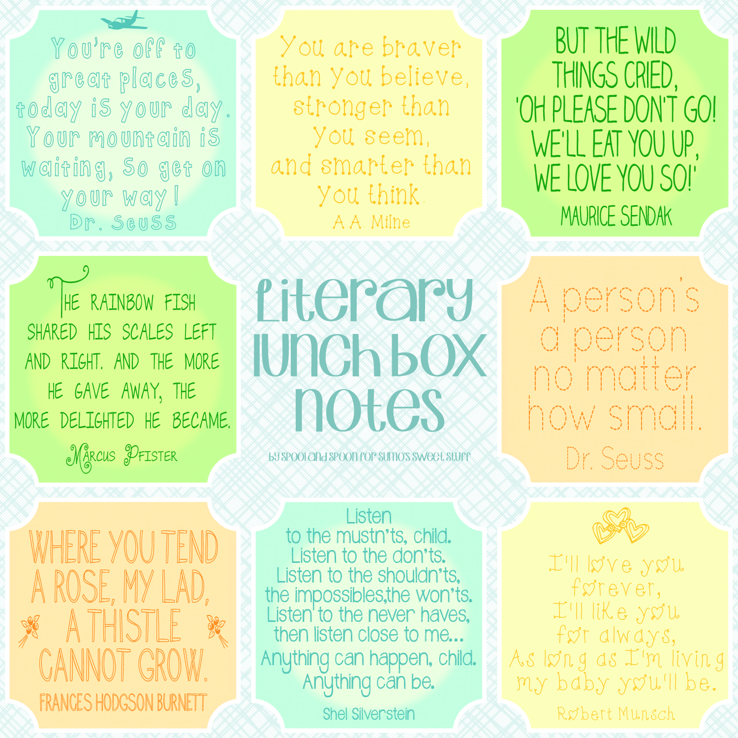 This is a picture of Bright Free Printable Lunchbox Notes for Husband