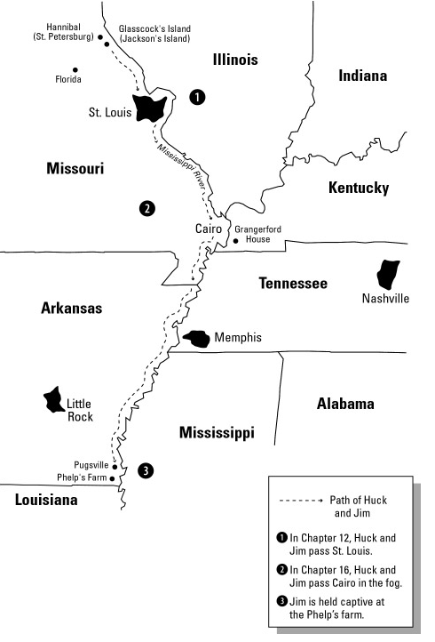 an analysis of the topic of the symbol of the mississippi river for huck and jim in the novel the ad Or teaching the adventures of huckleberry finn of novel analysis freedom- while huck and jim are huck and jim, the mississippi river is the.
