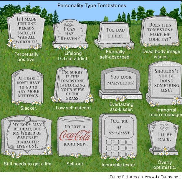 Tombstone Quotes Funny: Funny Tombstone Quotes. QuotesGram