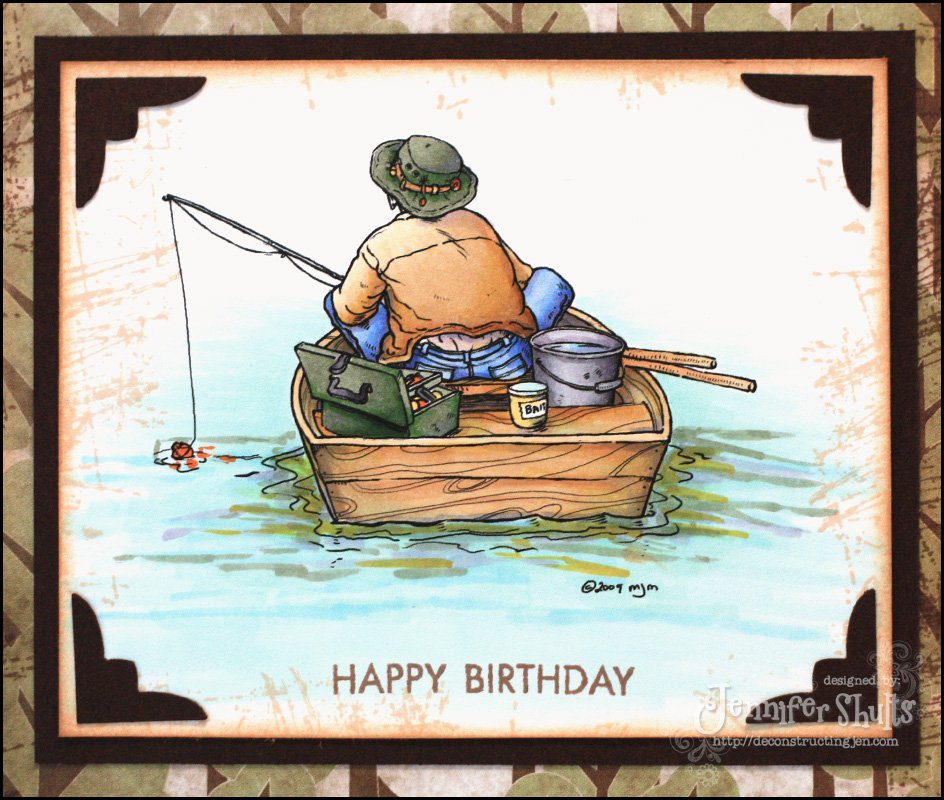 Красивые открытки для рыбака