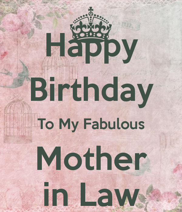 Sweet Mom Birthday Quotes: Happy Birthday Mother In Law Quotes. QuotesGram