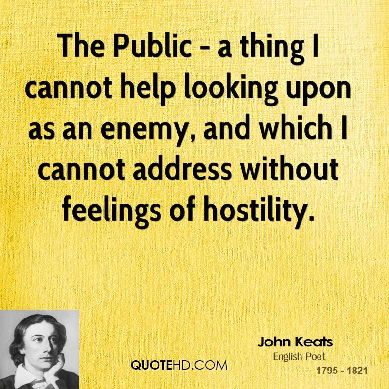 John Keats Quotes. QuotesGram