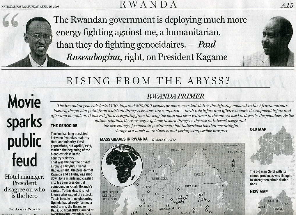 rwandan genocide who was responsible essay View and download rwandan genocide essays examples also discover topics, titles, outlines, thesis statements, and conclusions for your rwandan genocide essay.