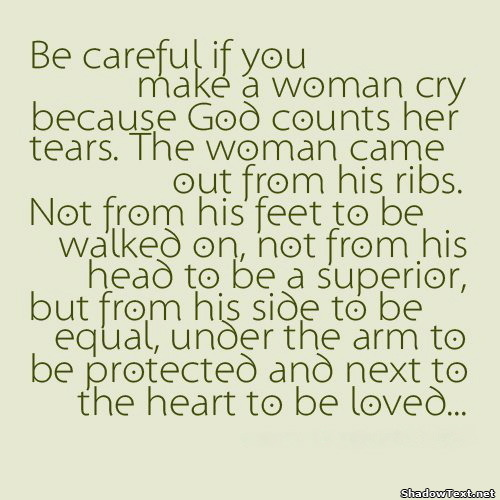 Woman Tears Quotes