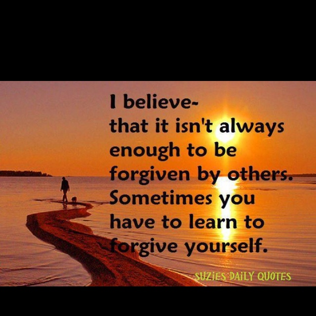 Christian Quotes About Forgiveness Quotesgram: Self Forgiveness Quotes. QuotesGram