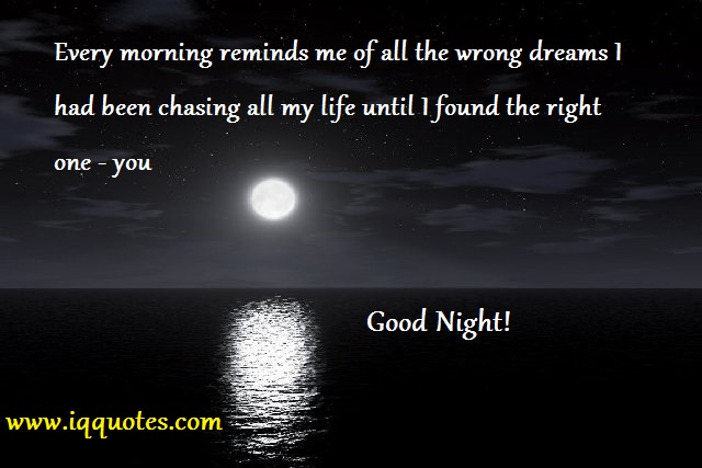 good night quotes for her quotesgram