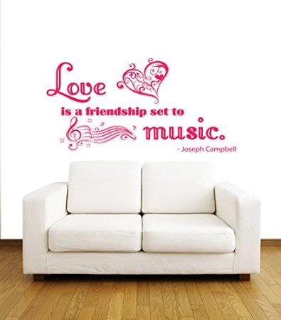 Friendship wall quotes decal quotesgram for Bedroom furniture quotes