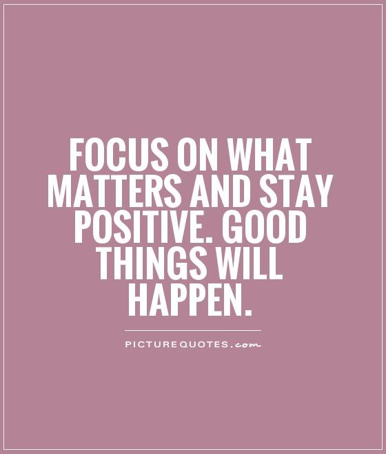 Always Keep Positive Attitude Quotes: Hard To Stay Positive Quotes. QuotesGram