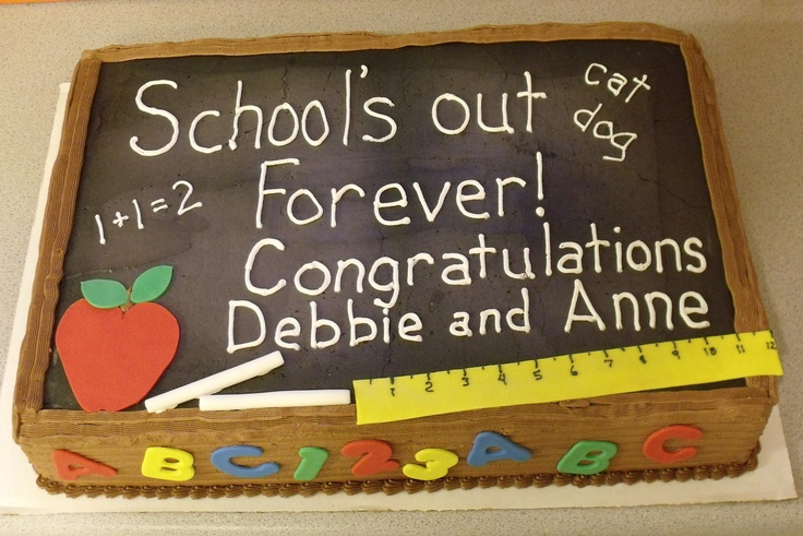 Retirement Cake Designs For Teachers : Quotes For Teacher Retirement Cakes. QuotesGram