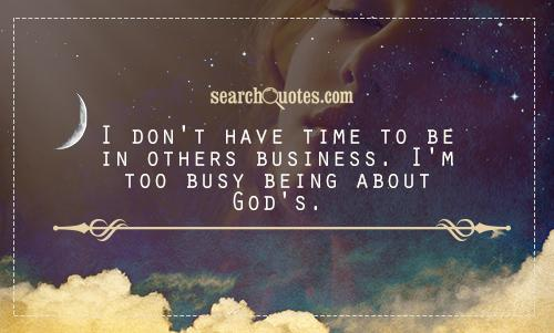 17 Best Too Busy Quotes On Pinterest: Too Busy For God Quotes. QuotesGram