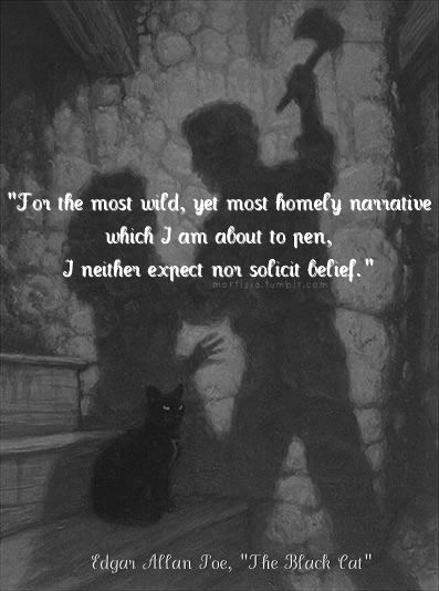 an introduction and an analysis of the black cat by edgar allan poe