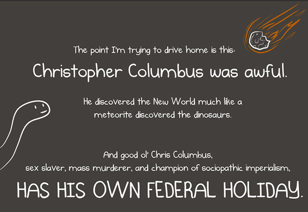 Funny Quotes About Christopher Columbus Quotesgram: Columbus Day Native Perspective Quotes. QuotesGram