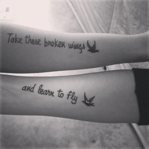 Tattoo Quotes Meaningful: Deep And Meaningful Tattoo Quotes. QuotesGram