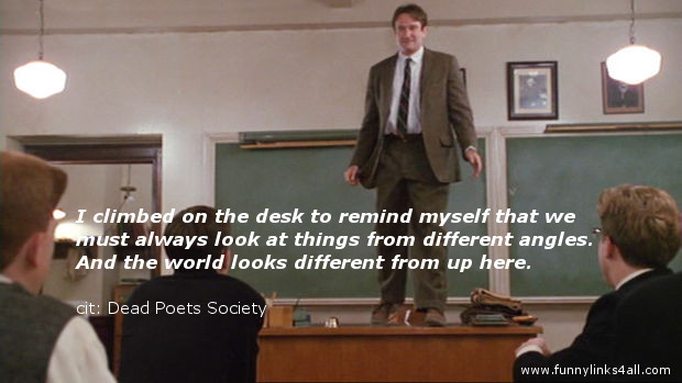reflection paper on dead poets society