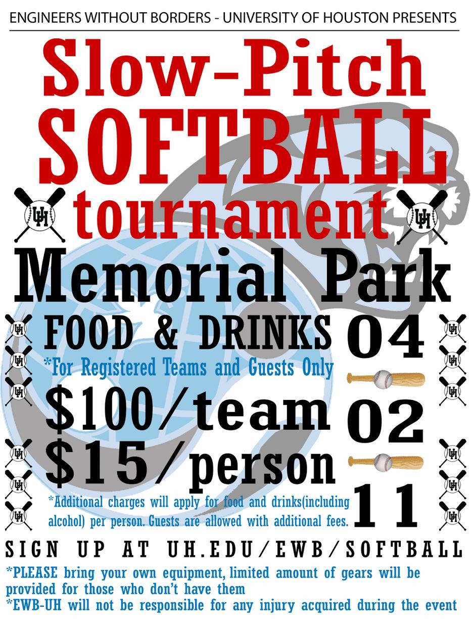 Softball tournament quotes quotesgram for Softball tournament flyer template