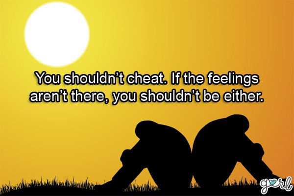 Is it right to forgive a cheater