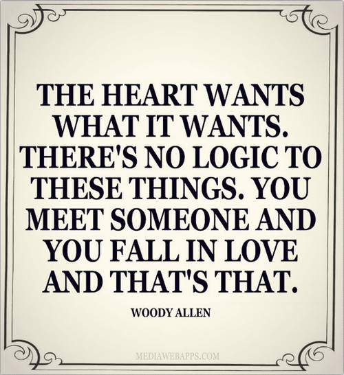 Quotes About Love: What The Heart Wants Quotes. QuotesGram