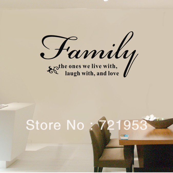 Motivational Inspirational Quotes: Family Quotes Wall Decals. QuotesGram