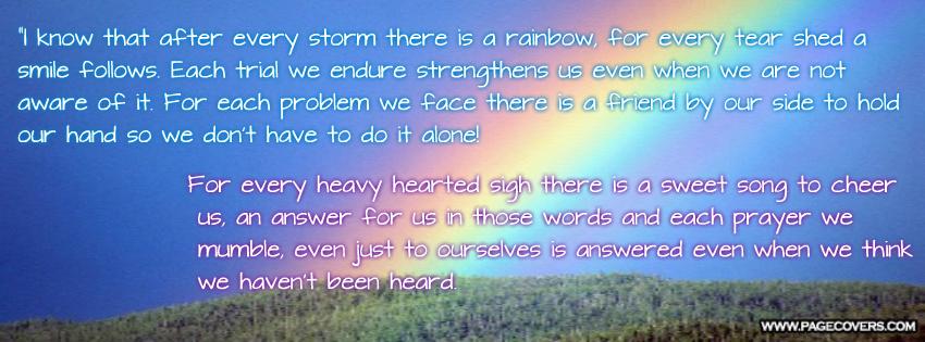 Storm Rainbow Quotes. QuotesGram
