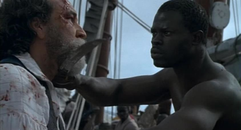 the beginning of slavery as shown in the film amistad The 1997 film amistad, directed by steven spielberg but influential lawyer and djimon hounsou, as cinque (sengbe peah) the slave revolt aboard the la amistad.