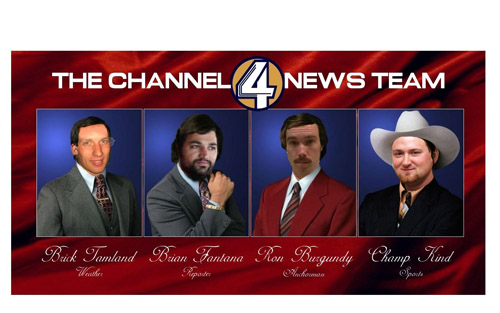 news team assemble anchorman quotes  quotesgram