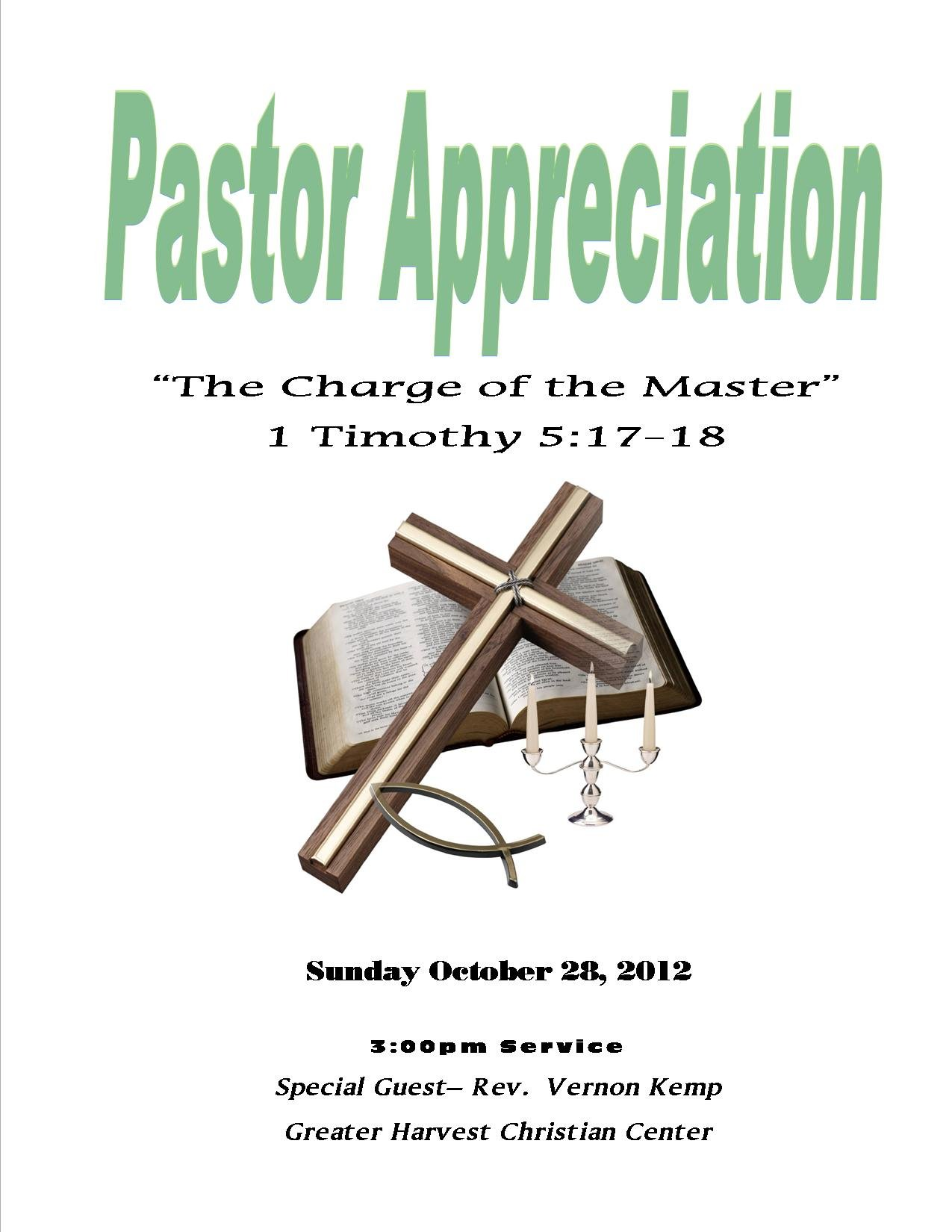 Pastor appreciation clip art quotes quotesgram for Pastor appreciation certificate template free