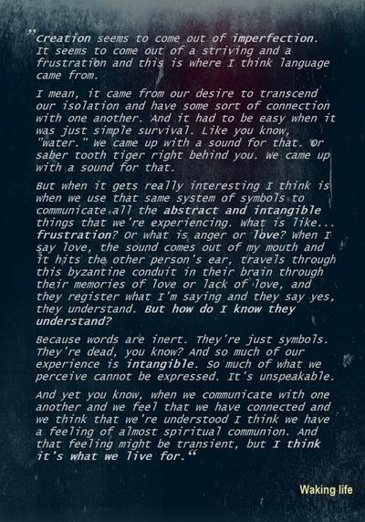 Waking Life Movie Quotes. QuotesGram