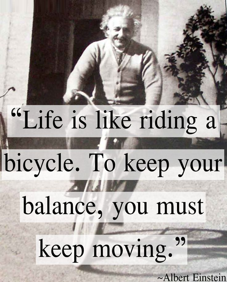 Albert Einstein Quotes Life Is Like Riding A Bicycle: Lifelong Learning Quotes Albert Einstein. QuotesGram