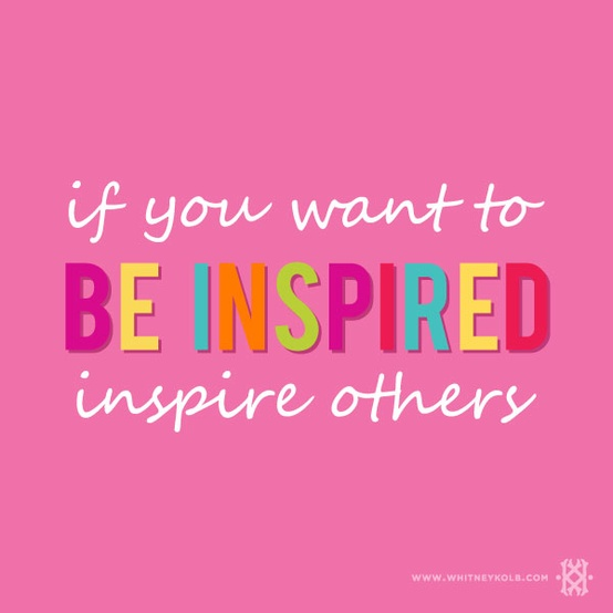 Quotes About Inspiring Others. QuotesGram