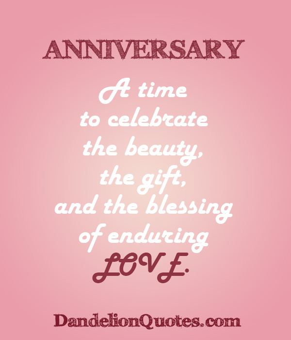 Anniversary Blessings Quotes Quotesgram