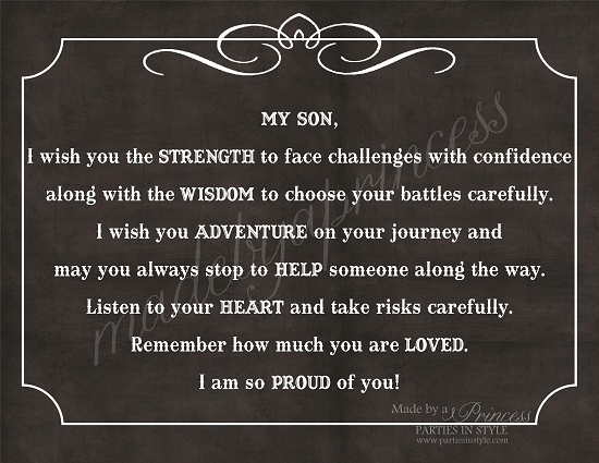 Awesome Son Graduation Quotes. QuotesGram