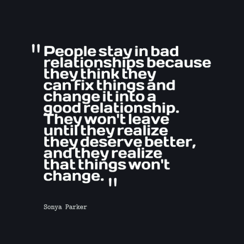 quotes about things changing in a relationship