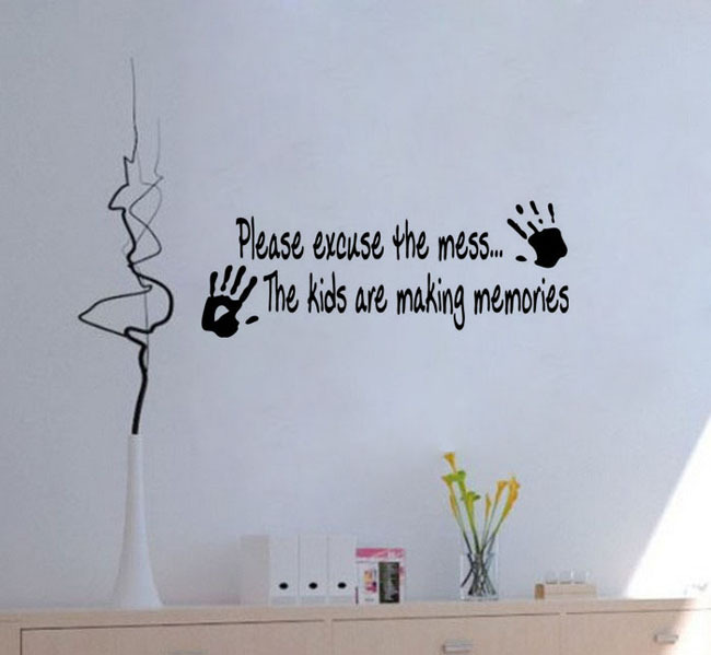 Cheap decals for walls quotes quotesgram for Cheap wall mural decals
