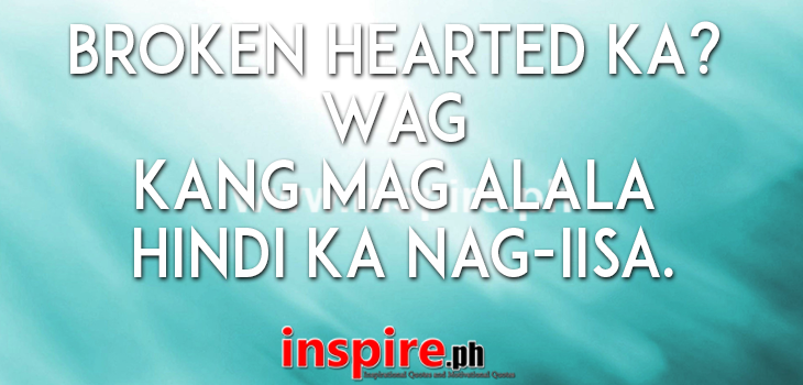 tagalog quotes about broken heart quotesgram