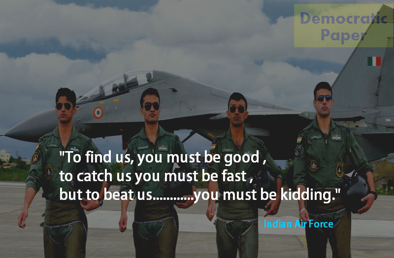 Indian Air Force Quotes In Hindi