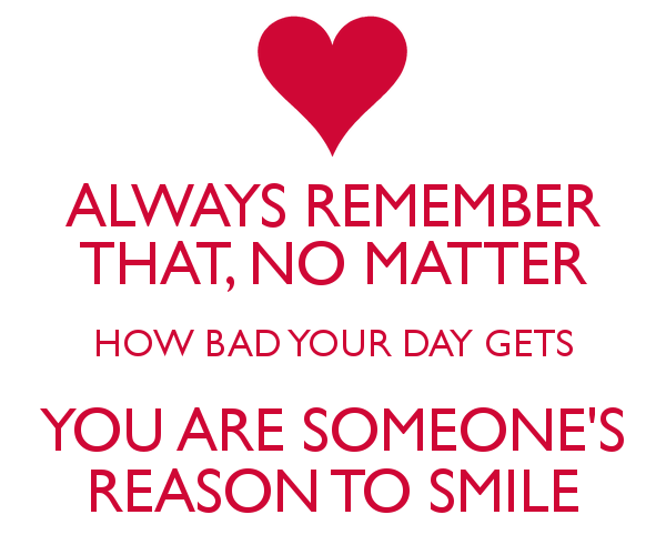 I Have Every Reason To Smile Quotes: Quotes About Remembering Your Smile. QuotesGram