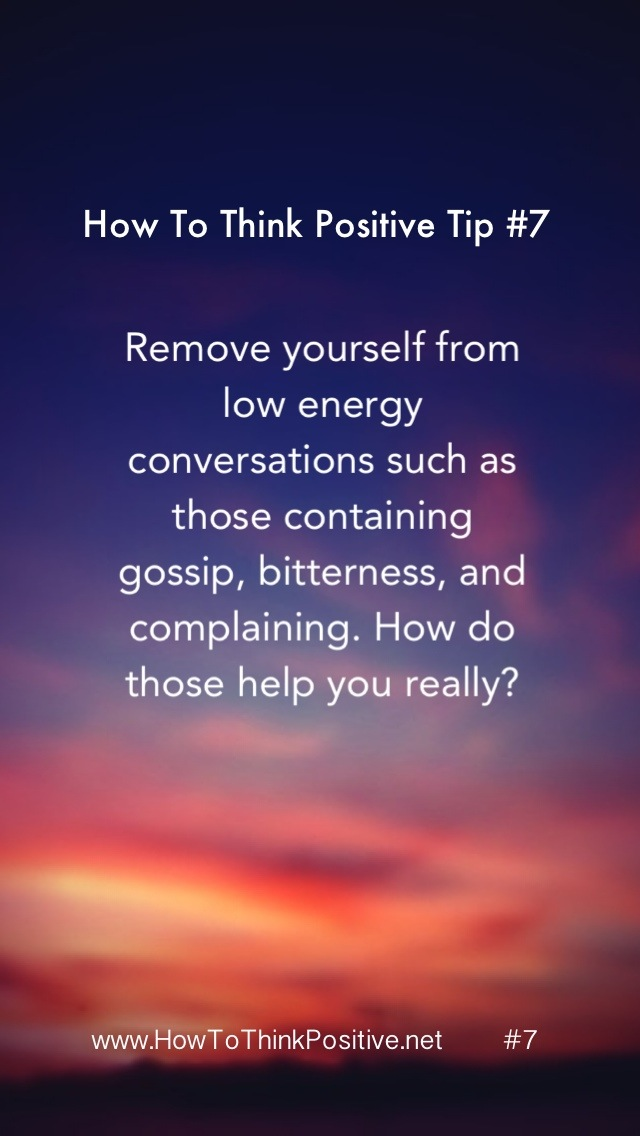 Positive Thinking Quotes Of The Day: Quotes About Removing Negativity. QuotesGram