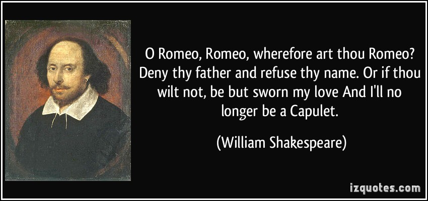 the effects of love in romeo and juliet by william shakespeare Romeo and juliet: act 5, scene 3 by william shakespeare 2 one that you love friar laurence who is it romeo and juliet: act 5, scene 3 by william shakespeare 7.