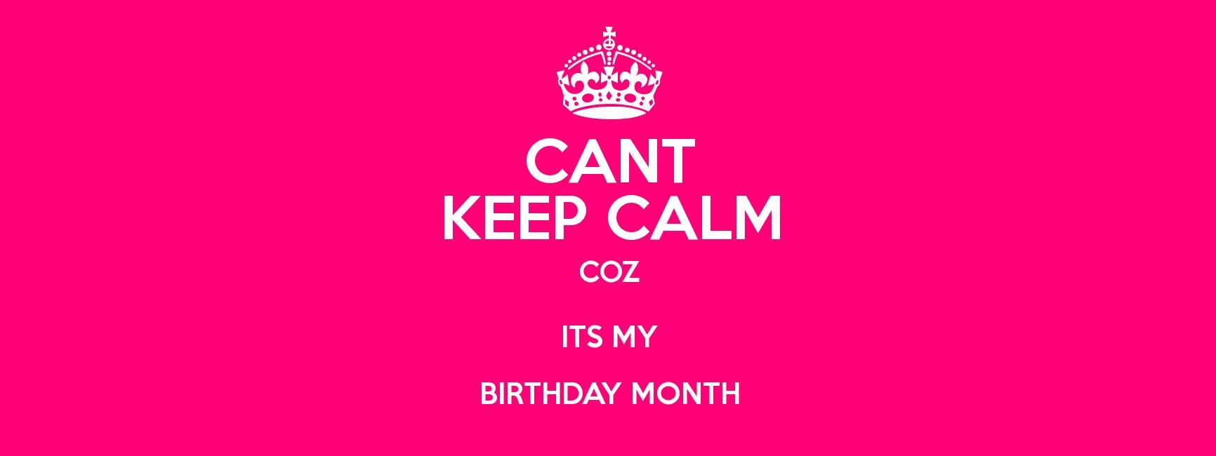 my birthday month - 1732×650