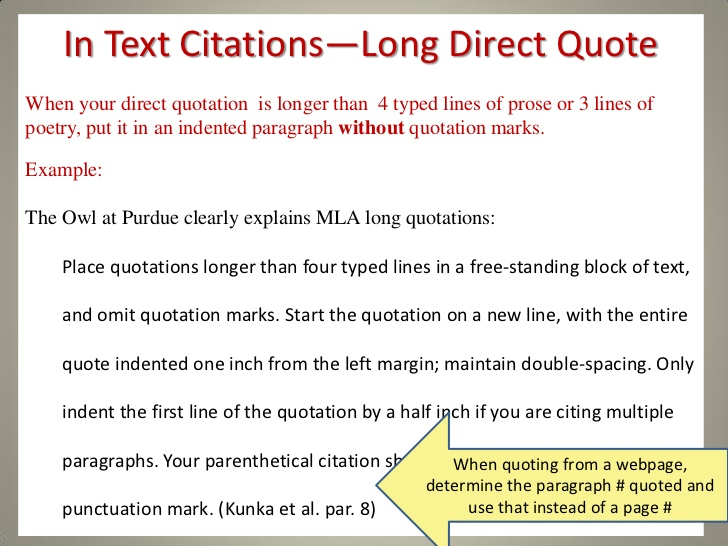 how to quote an article in an essay mla