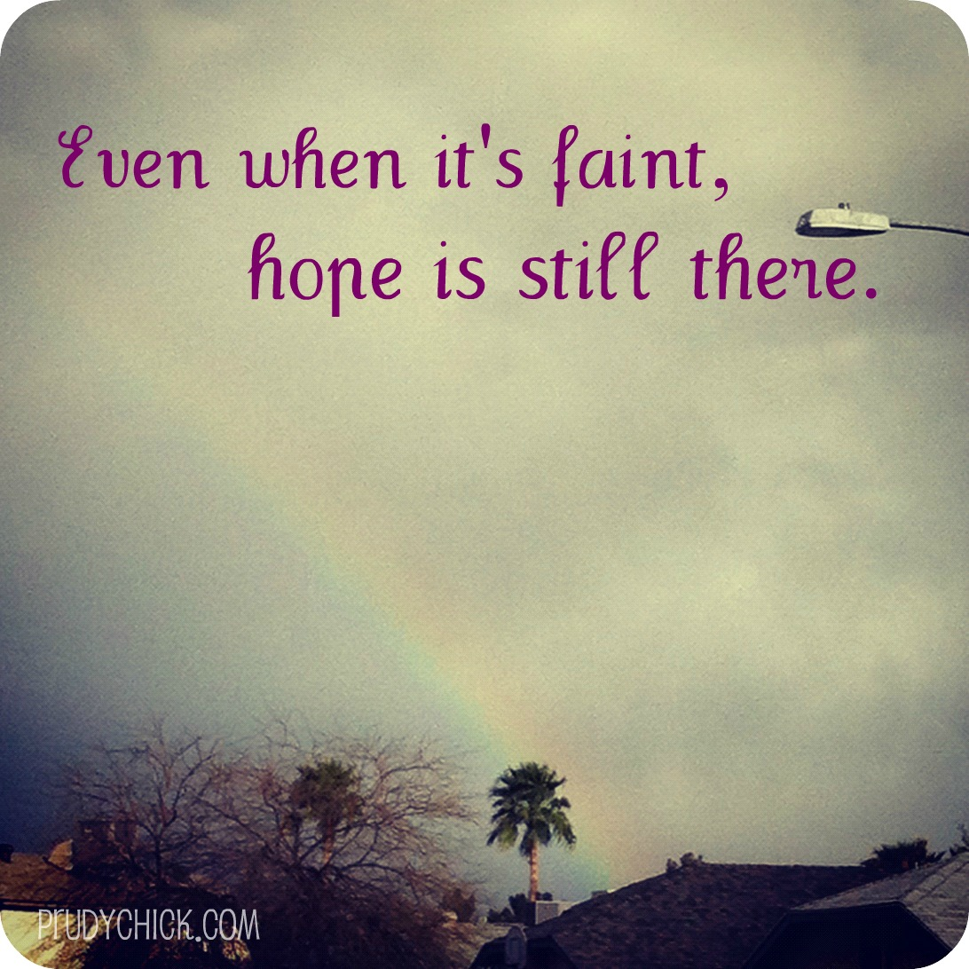Inspirational Quotes About Positive: Quotes About Storms And Rainbows. QuotesGram