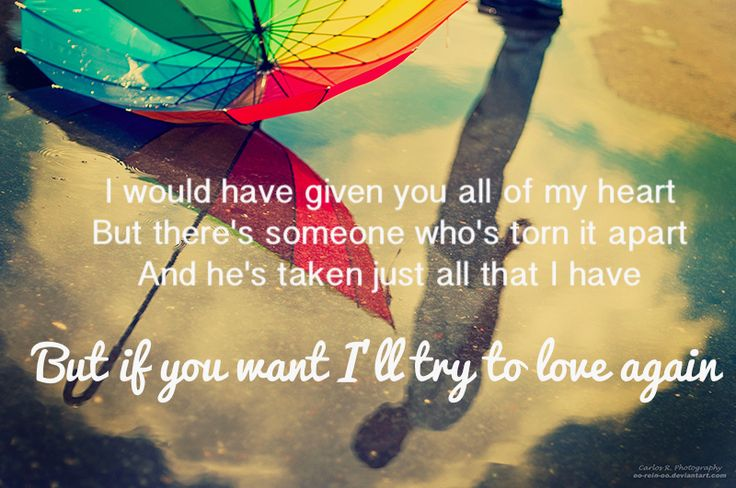 Trying To Love Again Quotes. QuotesGram