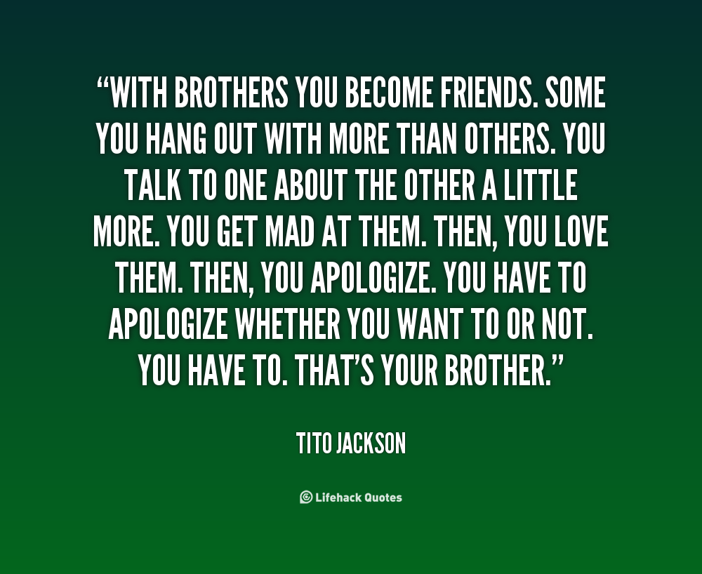 Brother Quotes. QuotesGram