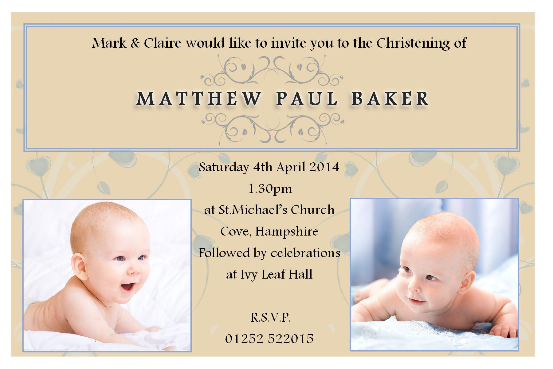 Write Your Own Quotes Christening Quotes Baby Boy