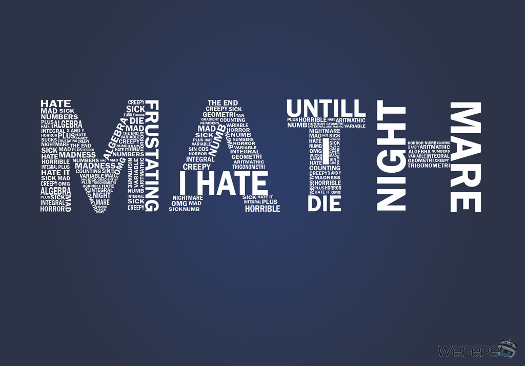 Hate Math Quotes. QuotesGram