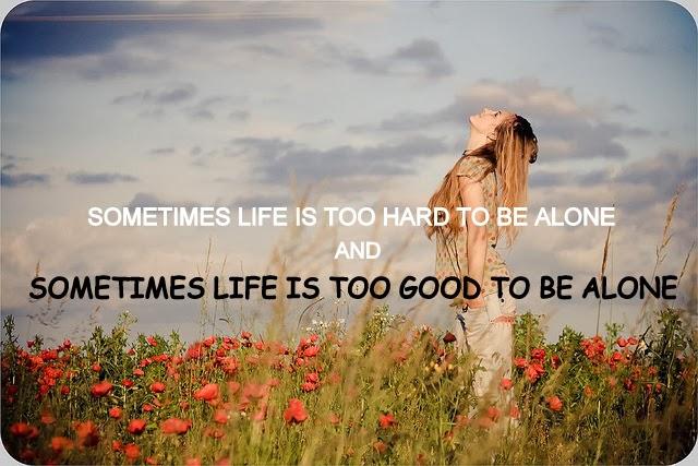 Happy Alone Quotes. QuotesGram